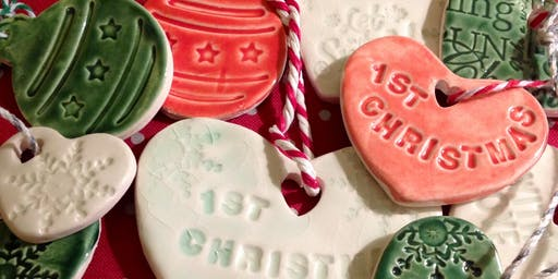 Ceramic Christmas Decorations Creative Craft Class