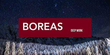Boreas Workshop: Deep Work- Maximizing Your Impact in a Distracted World tickets