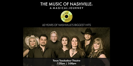 The Music of Nashville® at Texas Troubadour Theatre tickets