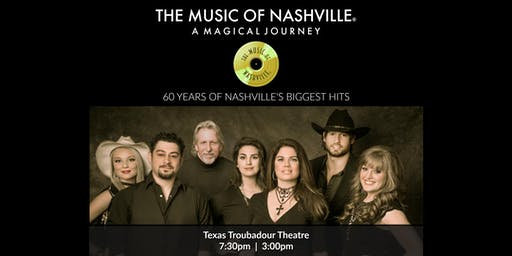 The Music of Nashville® at Texas Troubadour Theatre