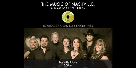 The Music of Nashville® Dinner Show at Nashville Palace tickets