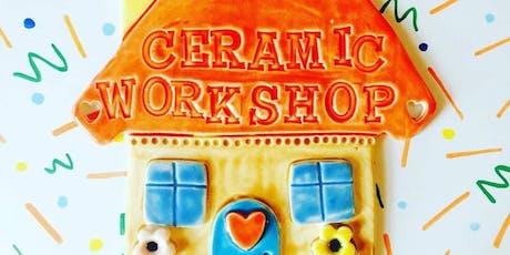 Beginners Ceramics Creative Craft Class tickets