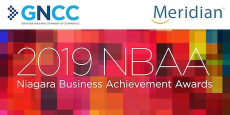 2019 NBAA - Niagara Business Achievement Awards tickets