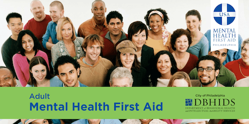 Adult Mental Health First Aid @ PARR (September 12th & September 13th)