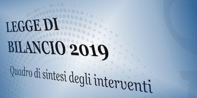 Legge di Bilancio 2019. Le novità fiscali e i provvedimenti sul lavoro