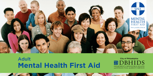 Adult Mental Health First Aid @ PARR (October 17th & October 18th)