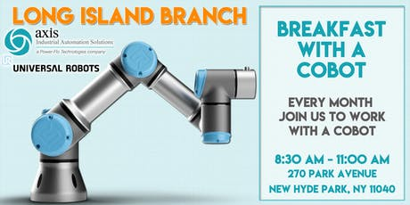Axis NJ - Breakfast with a Cobot, Long Island Branch tickets
