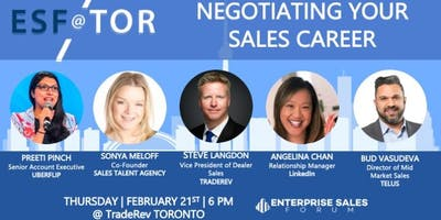 Negotiating Your Sales Career