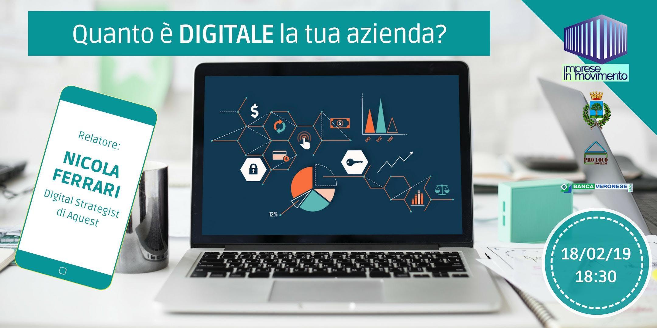 Quanto è digitale la tua azienda? - Le domand
