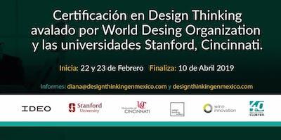 Certificación en Design Thinking avalado por la World Design Organization