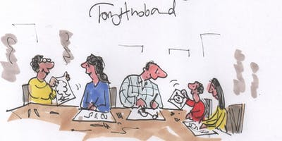 Create a Comic Book Workshop – with Tony Husband of 'Private Eye' fame