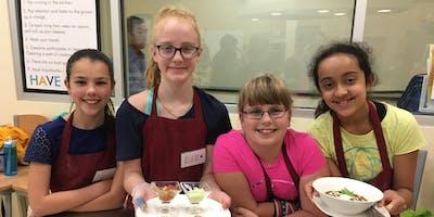 June Jr. Chef (ages 10-14) Camp: Famous Chefs
