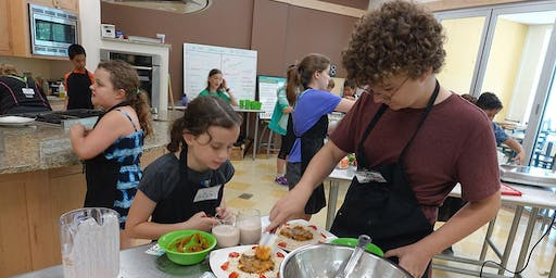 August Jr. Chef (ages 10-14) Camp: TV Cooking Competition Shows