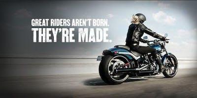Blackbridge Harley-Davidson Free Workshop: Learn To Ride