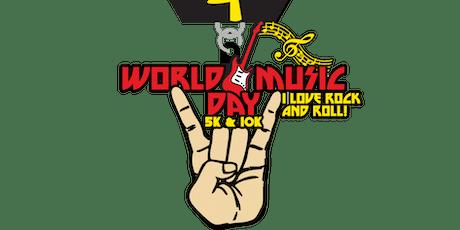2019 World Music Day 5K & 10K - Shreveport tickets