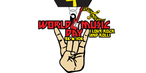 2019 World Music Day 5K & 10K - Shreveport