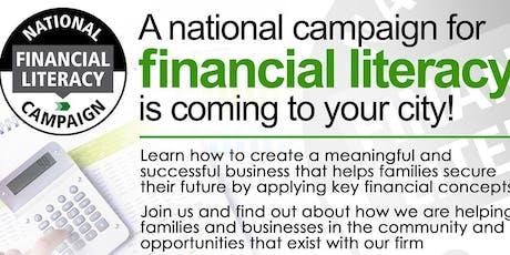 FINANCIAL LITERACY - Money Management Workshop Class - LEARN, EARN, EMPOWER- UPLAND tickets