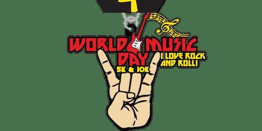 2019 World Music Day 5K & 10K - Trenton