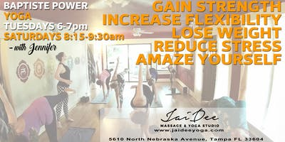 Baptiste Power Yoga at Jai Dee in Tampa