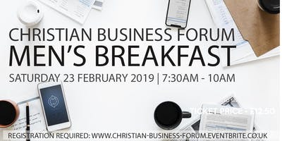 Christian Business Forum - Mens Breakfast