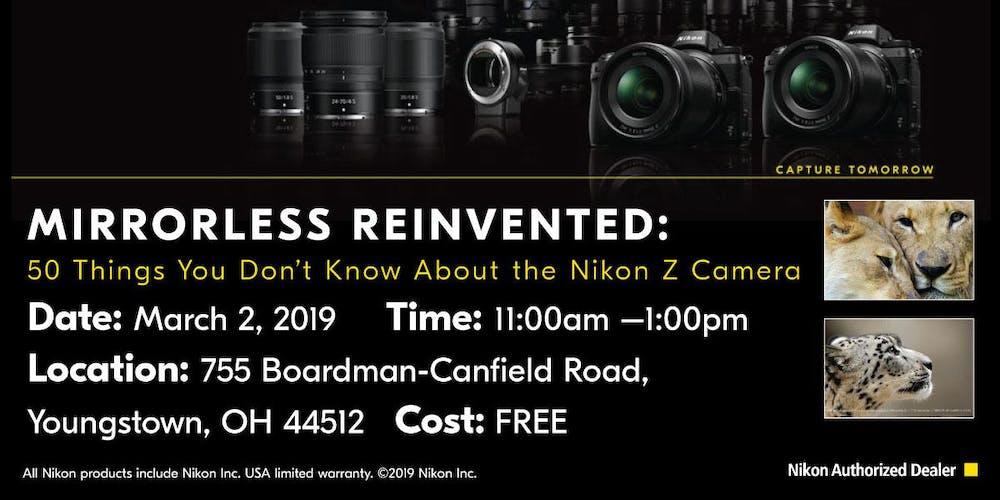 Nikon Demo Day Mirrorless Reinvented Workshop Tickets Sat Mar 2
