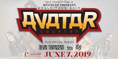 Avatar Country World Tour Cargo Concert Hall
