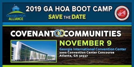 2019 Georgia HOA Boot Camp tickets