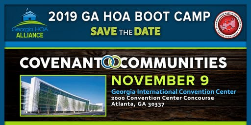 2019 Georgia HOA Boot Camp