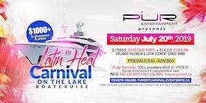 LATIN HEAT -CARNIVAL ON THE LAKE BOAT CRUISE 2019