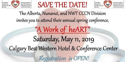AB, NWT & NU CCCN Annual Spring Conference - A Work of heART