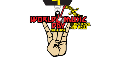 2019 World Music Day 5K & 10K - Houston tickets