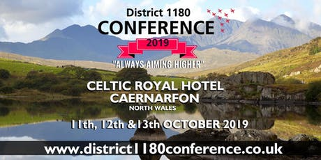 District 1180 Conference 2019 tickets
