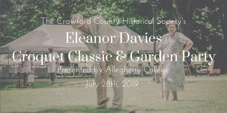 Eleanor Davies Croquet Classic and Garden Party tickets