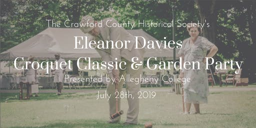 Eleanor Davies Croquet Classic and Garden Party