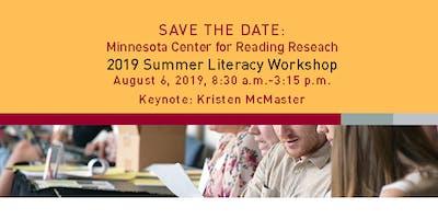 MCRR Summer Literacy Workshop 2019