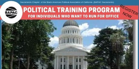 BAPAC SACRAMENTO POLITICAL TRAINING PROGRAM  tickets