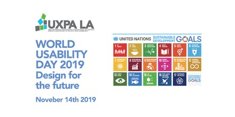 UXPALA World Usability Day 2019: Design for the Future We Want tickets