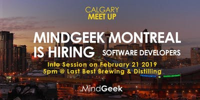 IT Career Fair: Hiring PHP, Java, JS, Go, ... devs for our Montreal office