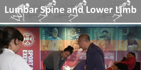 Lumbar Spine and Lower Limb tickets