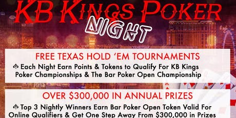 KB Kings Poker League at Slam Dunk Norco tickets