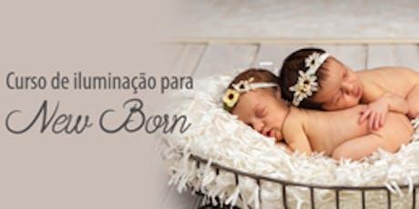 Curso de Iluminação para Fotografia de Newborn ingressos