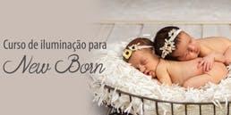 Curso de Iluminação para Fotografia de Newborn