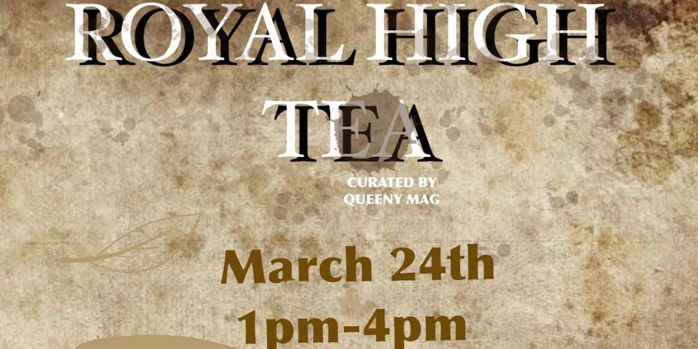Royal Tea Party Tickets Sun Mar 24 2019 At 100 PM