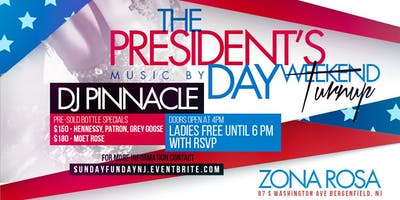 SUNDAY FUNDAY! Presidents Day Weekend Day Party!
