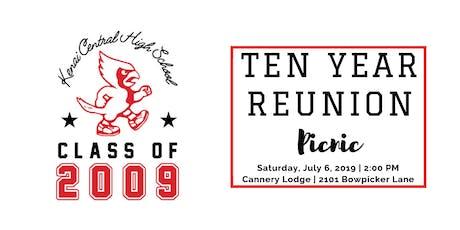 KCHS Class of 2009 - 10 Year Reunion tickets