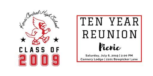KCHS Class of 2009 - 10 Year Reunion