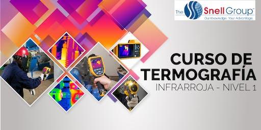 Curso de Termografía Infrarroja - Nivel I - The Snell Group / AGOSTO 2019 - ARANCELADO