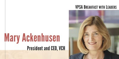 VPSA Breakfast at UBC Hospital featuring Mary Ackenhusen, VCH CEO