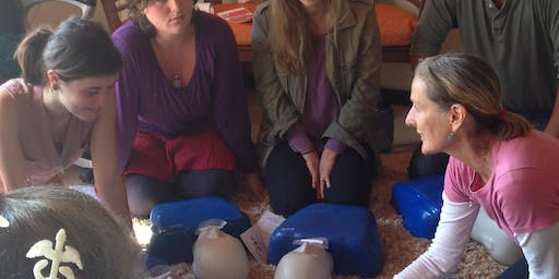 A Fun Santa Cruz, RED CROSS Adult-Pediatric CPR-AED and First Aid Class
