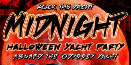 Rock the Yacht: Midnight Halloween Yacht Party Aboard the Odyssey Yacht tickets